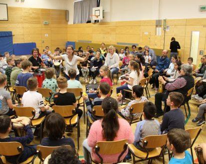 Drum Circle – der Groove für alle an der Ostschule