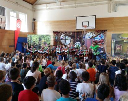 Die Oper zu Besuch in unserer Ostschule